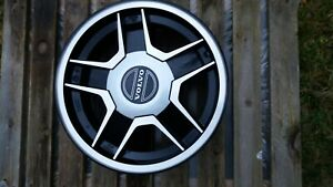 Nos Very Rare Volvo 140 160 1967 1974 5 Spoke Four 4 Aluminum Wheels Hubcaps