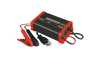 Bc8s1210a 12v 10a Battery Smart Charger Maintainer Compatible W Optima Blue Top