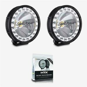 Lightforce Htx 230mm Hid Led Hybrid 12v 150w Driving Lights 2 Pack W Wiring
