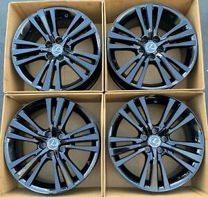 18 Honda Civic Si Coupe 2017 2018 Factory Oem Rims Wheels 64113 Gloss Black