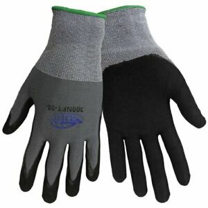 Tsunami Grip 500nft Nitrile Coated Work Gloves Sizes Small xl Med