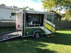 2013 Look 6 x12 Packer Tailgate Trailer