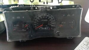 2003 2004 2005 Crown Victoria Police Grand Marquis Speedometer Cluster Used