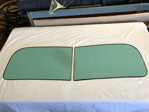 1936 Oldsmobile 2 Piece Original Windshield Oem