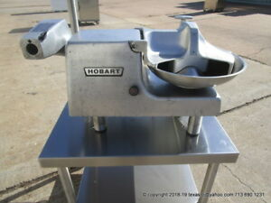 Hobart Buffalo Chopper Cutter 84145 115 Volts