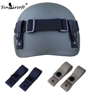 Tactical Goggle Sling for MICH 2000 2001 2002 Helmet Airsoft Paintball Military
