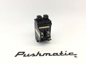 Pushmatic Duplex Circuit Breaker P1520 Twin Ite Tandem 20 15 Amp 15 20 Amp