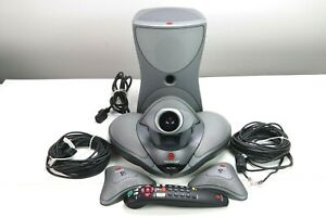 Polycom Vsx 7000 7000s Complete Video Conferencing System Tested Working