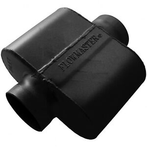 Flowmaster 9435109 10 Series Race Muffler 3 5 Center In 3 5 Out Aggressive Sound