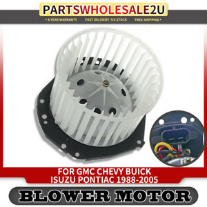 Hvac Heater Blower Motor For Chevrolet Astro Blazer Gmc Safari Cab Pickup 700092