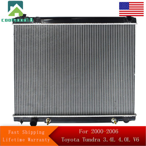 Radiator For 2000 2006 Toyota Tundra 3 4l 4 0l V6 Us Fast Shipping