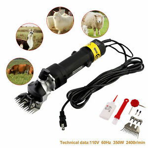 350w Electric Farm Supplies Sheep Goat Shears Animal Grooming Shearing Clipper