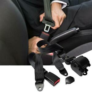 1 retractable Seat Belt 3 Point Extender Extension Buckle Lap Safety Accessories