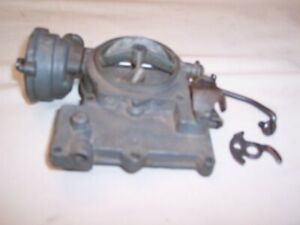 Chevy Carburatoar Rochester 2gc Carb Top Rat Rod Hot Street Vintage 265 283 55