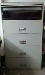 5 Drawer Lateral Size File Cabinet Office Furniture