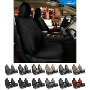 Seat Covers Leatherette For Nissan Titan Coverking Custom Fit
