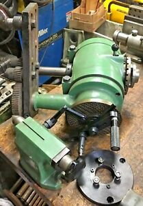 Meca Technica Differential Indexing Dividing Head Tailstock Spain Mill Gear Cut