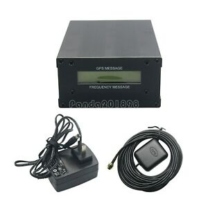 Gpsdo Gps Colck 10m W Lcd Display Frequency Message Disciplined Oscillator Paus