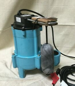 Little Giant 9sn cia sfs 4 10 Hp Automatic Submersible Sewage Pump 115v