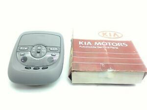 Kia Overhead Console Grey 7k52z 51410a64 With Sunroof Without Homelink Sedona
