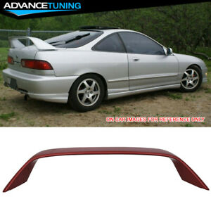 94 01 Integra Dc2 Type r Oem Painted r505p Cayenne Red Metallic Trunk Spoiler
