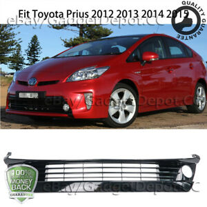 Fit Toyota Prius 2012 2013 2014 2015 Front Bumper Lower Grille Abs Grill W Hole