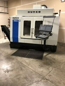 Pre owned Vmx42 Vertical Cnc Milling Machine 3 Axis 24 x 50 Table 230vac