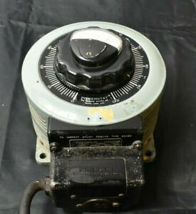 Staco Energy Variac Autotransformer 0 140v 22a With Built In Gauge V3pn136b