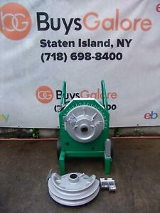 Greenlee 555 Pipe Bender 1 2 To 2 Inch With Rigid Shoes 1818 855 2