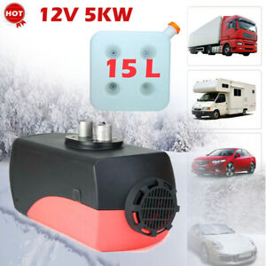 12v 5kw Diesel Air Heater Lcd Thermostat For Truck Car Boat Trailer Rv Motorhome