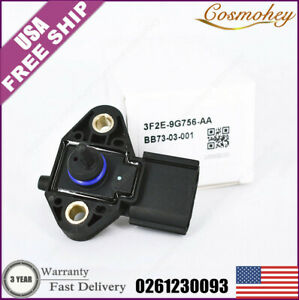 0261230093 New Fuel Injection Rail Pressure Sensor Fits For Ford Lincoln Mercury