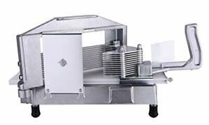 Commercial Tomato Slicer Cutting Machine Stainless Steel Blade Kitchen Equipment