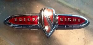 1941 Buick Trunk Ornament Emblem Guide 1320553 Show Quality