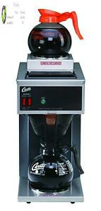 Wilbur Curtis Commercial Pourover Coffee Brewer 64 Oz Coffee Brewer 2 Station