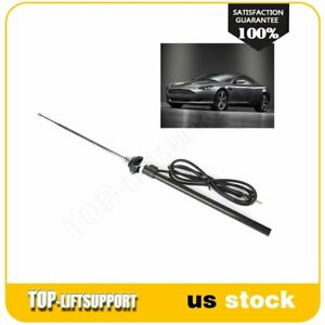 Universal Mount Disappearing Retractable Car Stereo Radio Am Fm Antenna Aerial