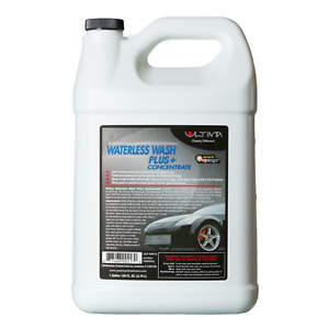 Ultima Waterless Wash 42 1 Concentrate Car Auto 1 Gallon Polycharged Spot Free