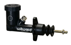 Wilwood 260 15098 Gs Compact Integral Master Cylinder 3 4 Bore Black Clutch