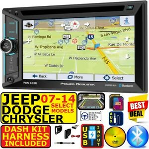 07 up Chrysler Jeep Dodge Navigation Usb Bluetooth Cd dvd Car Radio Stereo Pkg