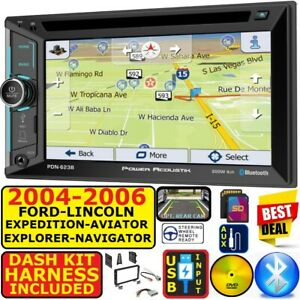 02 06 Ford Expedition Explorer Lincoln Aviator Navigator Navigation Bluetooth