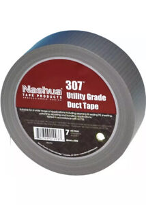 Nashua 307 Silver Utility Grade Duct Tape 2 X 60 Yds 48mm X 50m 1 Roll
