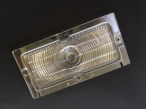 Nos 1949 Chrysler Right Hand Park Lamp Light Lens