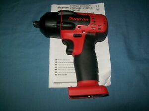 New Snap On 3 8 Drive 18 V Monsterlithium Cordless Impact Gun Ct8810b Toolonly