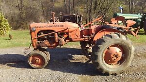 Allis Chalmers C Complete Tractor With Plow Brackets Ca