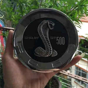 Car Rear Trunk Lid Emblem Badge Cap Tailgate Logo For Ford Mustang Shelby Gt500