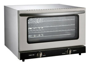 Commercial Restaurant Countertop Electric Convection 1 4 Size Oven Etl nsf List