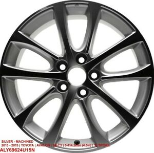 Toyota Avalon 2013 2014 2015 18 Oem Replacement Rim 4261107080 Aly69624u15n