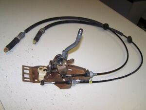Pontiac Fiero 5spd Shifter And Shift Cable Assembly Manual 5 Speed