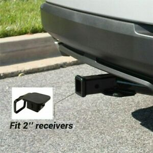 2 Trailer Tow Hitch Receiver Cover Plug Dust Cap For Toyota Lexus Jeep Gmc Ford