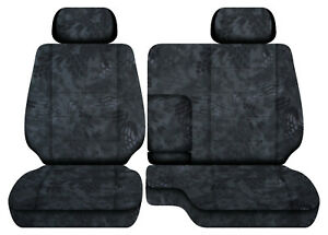 Terrain Camo Car Seat Covers Fits 95 00 Toyota Tacoma Front Bench 60 40 Seats 2h