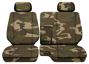 Urban Camo31 Car Seat Covers Fits 95 00toyota Tacoma Front Bench 60 40 Seats 2hr
